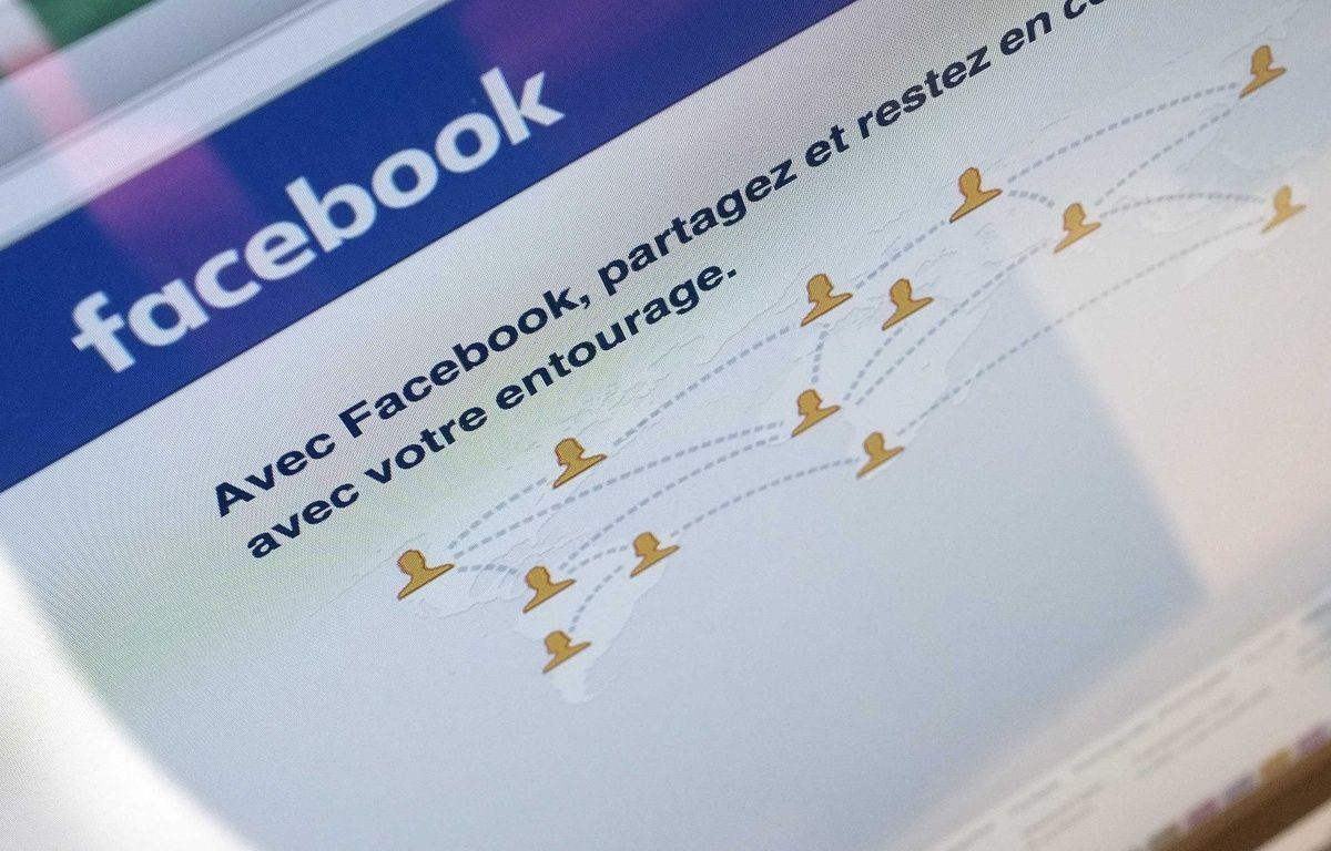 La page d'accueil de Facebook. – LODI FRANCK/SIPA