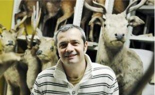 Jacques Cuisin s'occupe de la zoothèque.