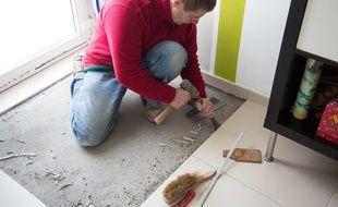 Illustration de travaux à domicile.