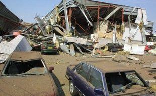 Le 21 septembre 2001,  l'explosion de l'usine AZF de Toulouse a laissé un paysage de désolation...