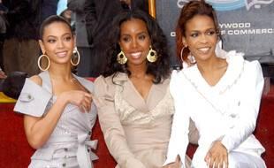 Les Destiny's Chid: Beyoncé, Kelly Rowland et Michelle Williams