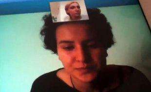La lycéenne tunisienne Amina, qui avait publié sur internet des photos d'elle seins nus à la manière du groupe féministe Femen, a affirmé avoir fui sa famille après avoir été séquestrée et maltraitée dans une vidéo diffusée lundi.