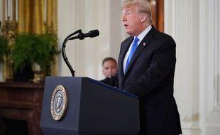 Donald Trump a évoqué «un grand jour» pour les républicains après les résultats des élections de mi-mandat aux Etats-Unis.