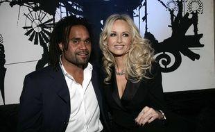 Christian et Adriana Karembeu, ici à Cannes le 12 avril 2010, sont séparés depuis sept ans.