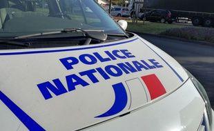 Le 17 septembre 2019. Illustration police. Ici à Vénissieux, près de Lyon.