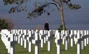 Le cimetière de Colleville-sur-Mer en Normandie.