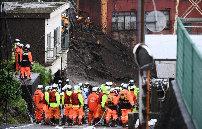 648x415 recherches trouver vingtaine personnes encore disparues atami annoncent longues