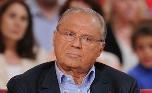 Gérard Louvin sur le plateau de «Vivement dimanche», le 24 avril 2012.
