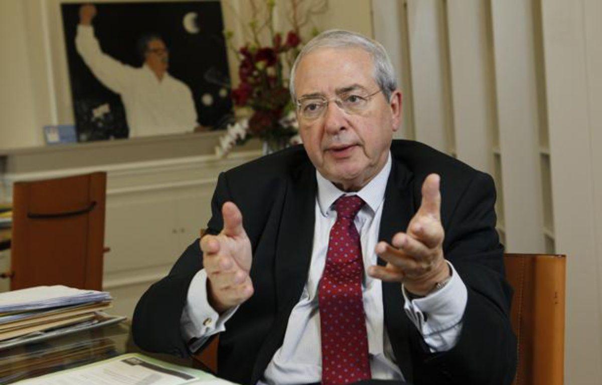 Jean-Paul Huchon, président du conseil régional d'Ile-de-France, le 5 novembre 2013. – A. GELEBART / 20 MINUTES