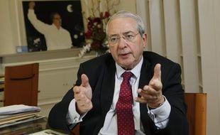Jean-Paul Huchon, président du conseil régional d'Ile-de-France, le 5 novembre 2013.