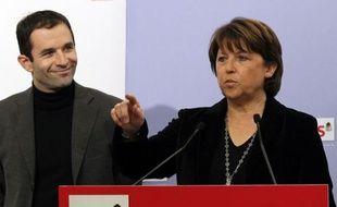 """Martine Aubry, première secrétaire du PS, a plaidé lundi pour un renforcement du """"rôle pivot de l'Onu"""", la création d'une Organisation mondiale de l'environnement et a redemandé une taxe sur les transactions financières, un """"outil"""" pour la solidarité Nord-Sud."""