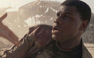 L'acteur britannique John Boyega dans «Star Wars: Le Réveil de la force».