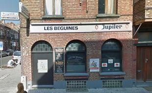 Le café Les Béguines, tenu par Brahim Abdeslam, à Molenbeek.