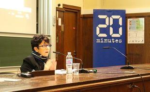 Catherine Lemorton présente les idées de Benoît Hamon sur le cannabis et la PMA.