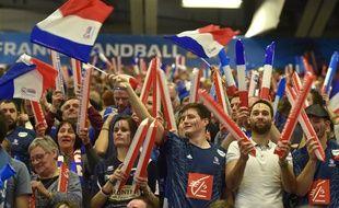L'équipe de France de handball peut compter sur un public nombreux et très bruyant, lors du Mondial 2017 à domicile.