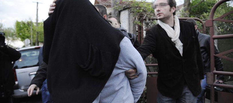 Yoni Palmier a été arrêté à Ris-Orangis, le 15 avril 2012.