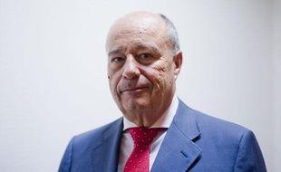 Jean-Michel Baylet, le 30 août 2011, au siège du Parti radical.