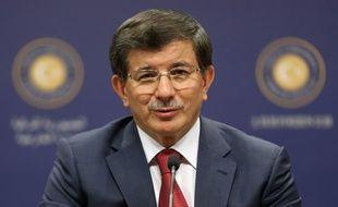 Le nouveau Premier ministre turc Ahmet Davutoglu