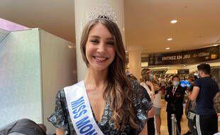 Andrea Baeza, Miss Montpellier 2021