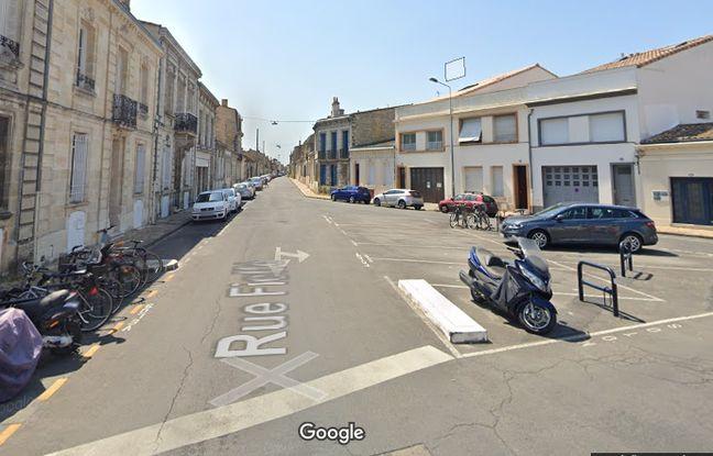 La placette Billaudel à Bordeaux, où sera plantée une microforêt urbaine