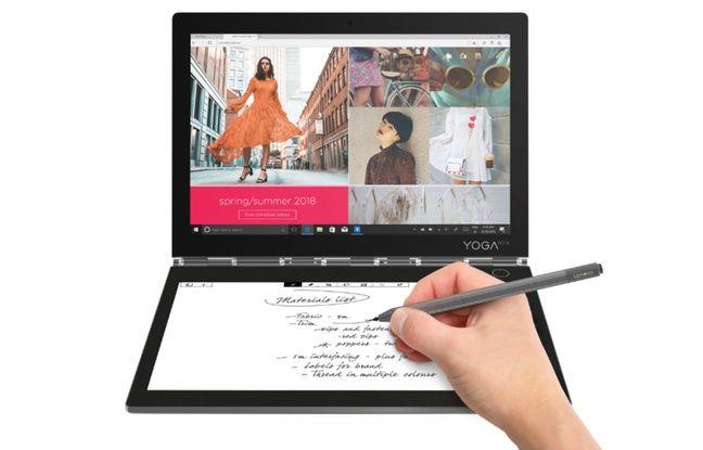 Le PC Lenovo Yoga Book C930.