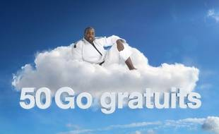 Publicité pour le service Cloudwatt