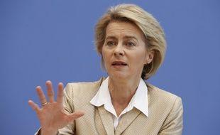 La ministre allemande de la Défense, Ursula von der Leyen, à Berlin, le 29 octobre 2014.
