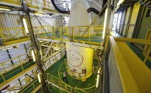 Au centre spatial de Kourou, avant le décollage des satellites, il y a quelques jours.