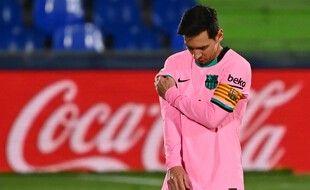Leo Messi et le Barça ont chuté à Getafe.