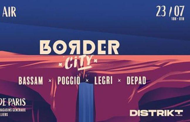 Visuel officiel de l'open air géant Border City