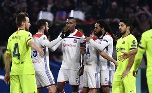 Les Lyonnais savent qu'ils ont fait la bonne opération du soir au vu de l'énorme domination catalane.