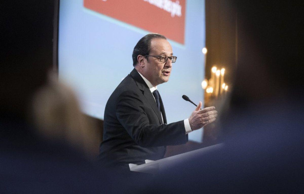 Le président François Hollande – ETIENNE LAURENT / POOL / AFP