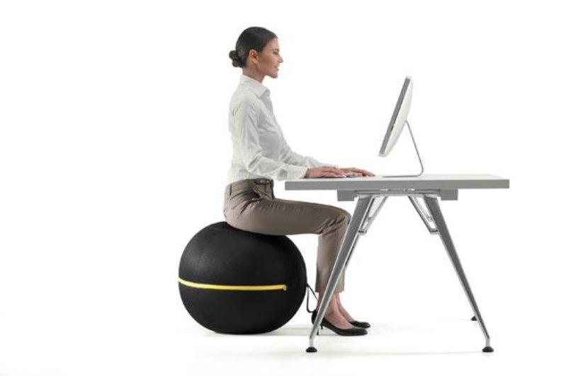 On a testé pour vous le ballon muscleur au bureau