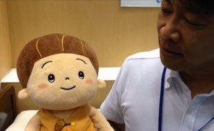 Kabochan, un robot avec qui les personnes âgées peuvent interagir.