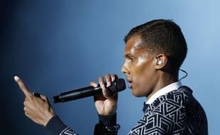 Stromae en concert à Rabat, au Maroc, le 2 juin 2014.
