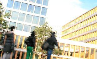 Le siège de Rennes Métropole  à Clémenceau a été livré en 2007.