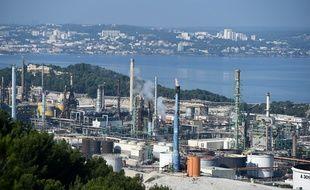 La raffinerie de La Mède, près de Marseille, le 26 octobre 2019.