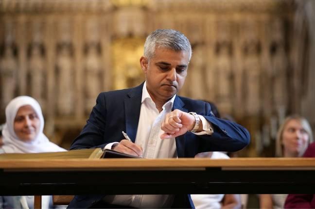 Sadiq Khan, nouveau maire de Londres, a prêté serment le 7 mai 2016.