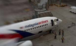 Un avion de Malaysia Airlines sur le tarmac de l'aéroport international de Kuala Lumpur le 16 juin 2014