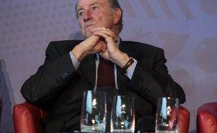 Le président du comité d'organisation de l'Euro 2016, Jacques Lambert, le 16 juin 2015.