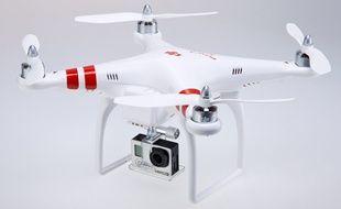 Le drone DJI Phantom 2 est déjà équipé d'une caméra GoPro.