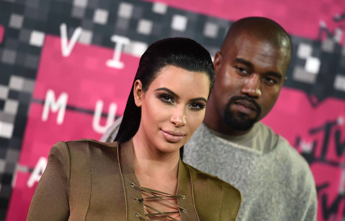 Kim Kardashian, left, and Kanye West arrive at the MTV Video Music Awards at the Microsoft Theater on Sunday, Aug. 30, 2015, in Los Angeles. (Photo by Jordan Strauss/Invision/AP)/CARA177/904517504514/083015111998, 21334631,/1508310312 – Jordan Strauss/AP/SIPA