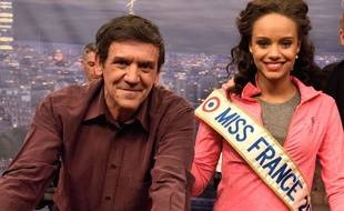 Christian Quesada et Alicia Aylies Miss France 2017