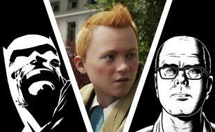 Batman par Frank Miller, Tintin en 3D et un autoportrait de Charles Burns