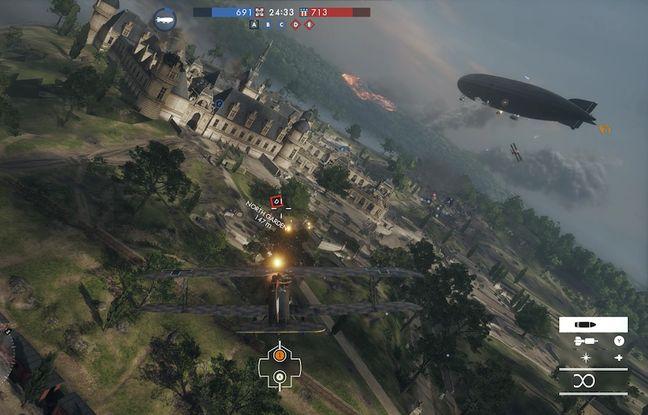 Dans Battlefield 1 le joueur incarne un fantassin mais aussi un pilote d'avion, de char ou d'autres véhicules. Une guerre totale.