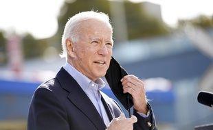 Le candidat démocrate à la présidentielle américaine Joe Biden, le 30 septembre 2020 à Cleveland.