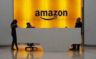 Le logo Amazon (illustration).