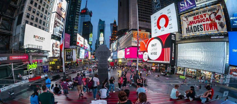 Illustration de New-York aux Etats-Unis.