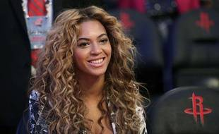 Beyoncé, le 17 février 2013 à Houston.