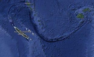 La Nouvelle-Calédonie.